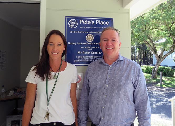 FXBC donates a copier to Pete's Place